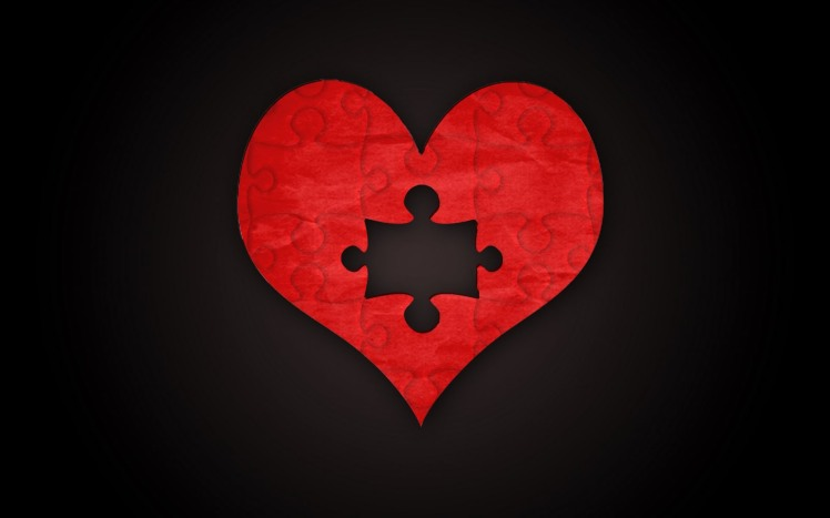 Puzzle Heart Piece Missing